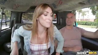 Cute Teen Gets Fucked In The Bus - Hardcore
