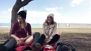 holdthemoan - Playful girls in public - The Top