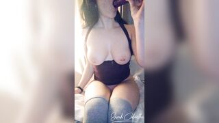 Kik and SnapChat Sales: See me deepthroat this large sextoy on Snapchat ;)