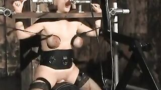 She's definitely going nowhere from that sybian