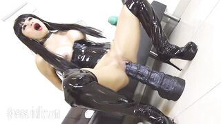 She Loves Wrecking Her Hole With Colossal Toys! - High Mileage Holes