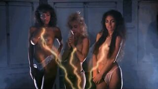 Linnea Quigley, Brinke Stevens, and Michelle Bauer - Nightmare Sisters