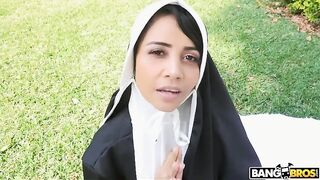 Dirty Nun Fucks The Gardener - Yudi Pineda