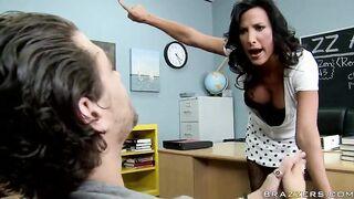 Titty Fucking The Teacher - With Lezley Zen