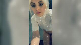 Alexandra Stan Full Nude Public Snapchat December 2019