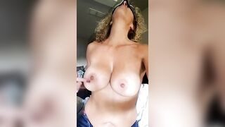 This is how you should play to make my nipples hard!! - Huge Boobs