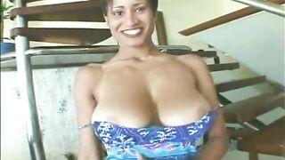 beautiful brazilian beauty - Huge Boobs