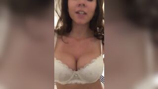 Super horny chick reveal - Huge Boobs