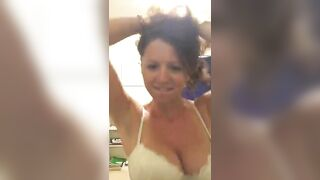 Super horny chick - Huge Boobs