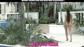 My aunt was a pornstar - Incest