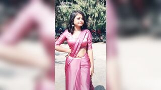 This cutie with a hot navel - Indian Babes