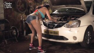Sheryln Chopra Mechanic Preview - Indians Gone Wild