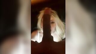 Cheating White Blonde Thick Long Black Dick - Interracial Cuckold