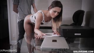 She lets her stepbrother fuck her