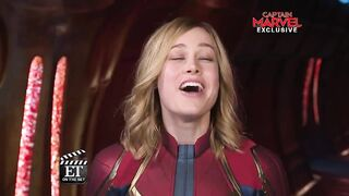 Captain Marvel is gonna please so many fans with that big mouth of hers. - Celebs