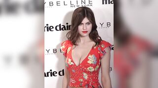 Alexandra Daddario flaunting her perfect breasts for us to jerk to <3 - Celebs