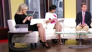 Sandra Smith's legs make me jack off so hard - Celebs