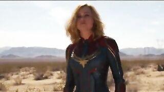 Brie Larson's sassy strut makes me rock hard - Celebs