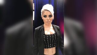 """Alexa bliss is the type that says """"you call that a dick"""" before she calls in a bbc to fuck. - Celebs"""