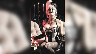 Olivia Taylor Dudley wishes you a horny halloween - Celebs
