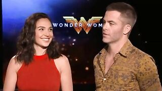Gal Gadot was so horny with that lip bite she had to quickly remind herself that she's married - Celebs