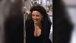 Julia Louis-Dreyfus is such a slut, just look at her... - Celebs