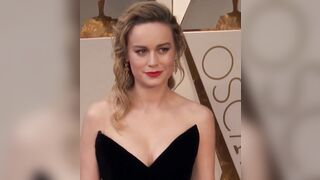 Imagining Brie Larson's face drenched in cum always gets me off. - Celebs