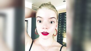 Celebrities: Anya Taylor Fun literally begging for it