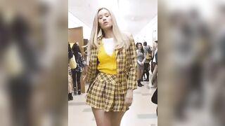 Iggy Azalea in a Sexy schoolgirl outfit - Celebs