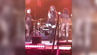 Camila Cabello teasing her ass on stage. Delicious whore needs get destroyed and fucked hard in her amazing ass. - Celebs