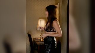 Jennifer Aniston as a dominatrix would be fun but cuffing her up and making her a submissive slut, pounding her raw and hard would be hot as all hell - Celebs