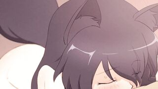 little catgirl blowjob 2 - Hentai