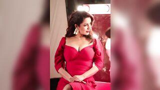 Love Tisca Chopra's big milf tits