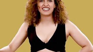 Sanya Malhotra's cleavage is the perfect cum target - Indian Celebs