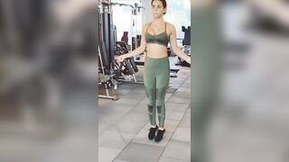 Aisha Sharma bouncing boobs - Indian Celebs