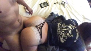 Jiggle Fuck: When you stop to turn on the camera and she just keeps going out of you