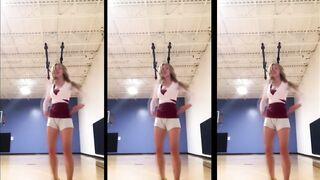 Watching this MILF practice her dance