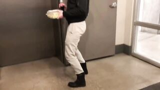 Jess's sexy dance! - Kidding